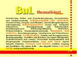 bul thematisiert
