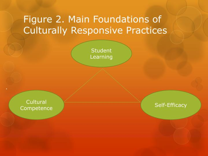 Figure 2. Main Foundations of Culturally Responsive Practices