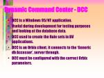 dynamic command center dcc