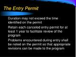 the entry permit1