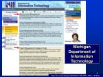 michigan department of information technology