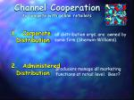 channel cooperation to compete with online retailers