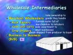 wholesale intermediaries