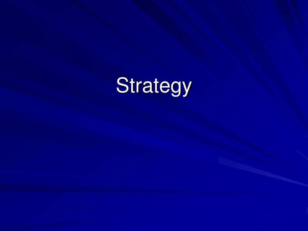 strategy l.