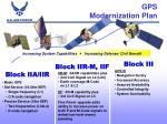 gps modernization plan