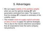 5 advantages