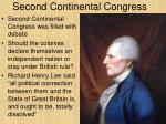 second continental congress1