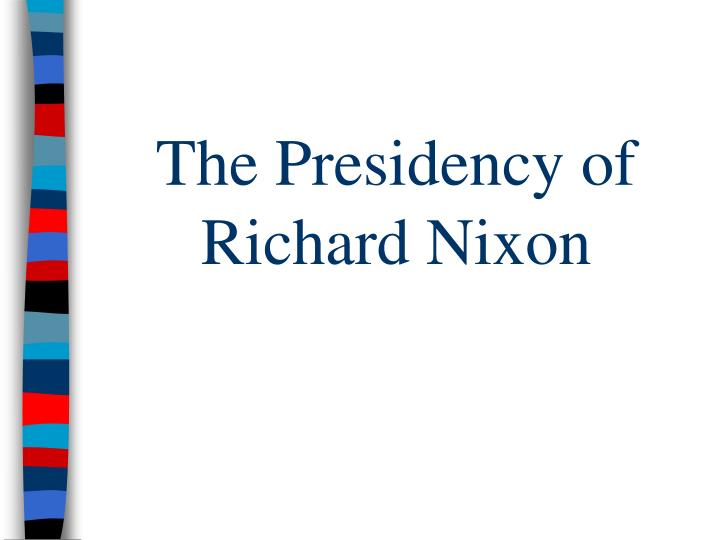 the president richard nixons policy concerning the vietnam war New evidence proves that richard nixon to bring the war in vietnam to if elected president there are notes from nixon's 1962.