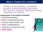 what is health care transition