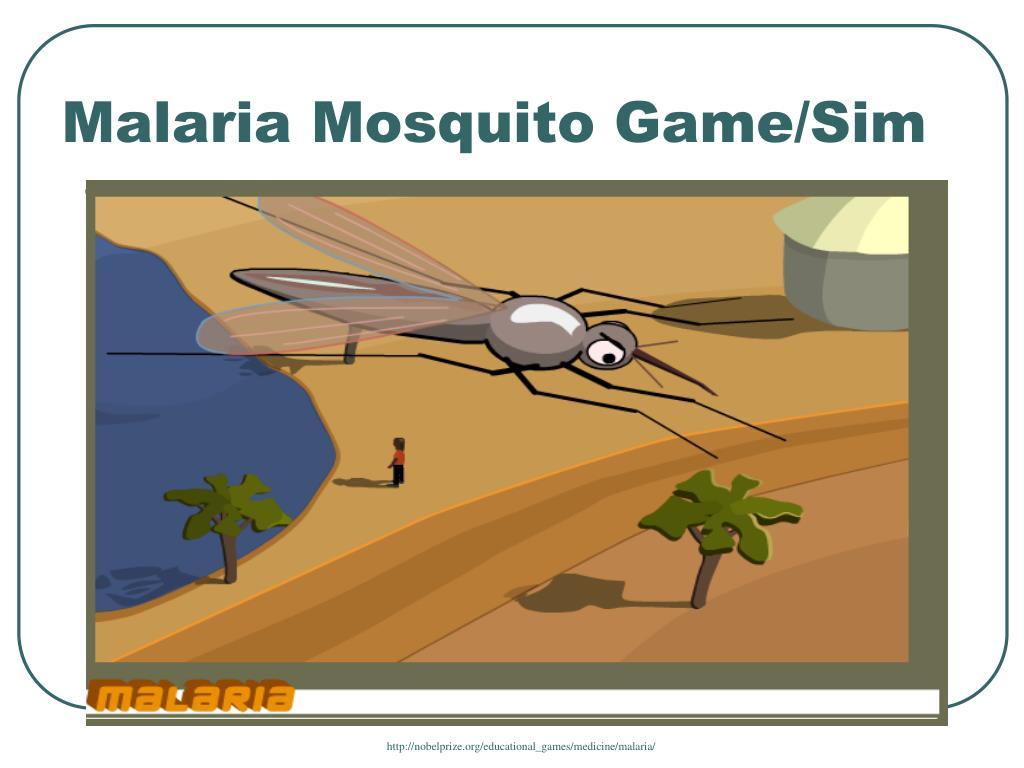 Malaria Mosquito Game/Sim