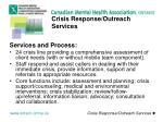 crisis response outreach services