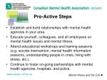pro active steps