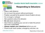 responding to delusions