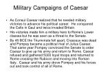 military campaigns of caesar