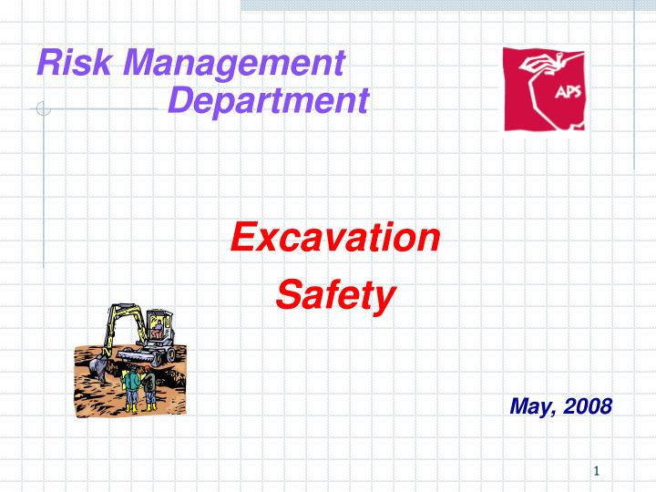 risk management department n.