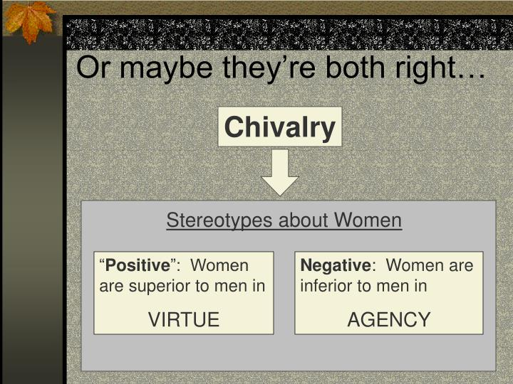 virtue and chivalry
