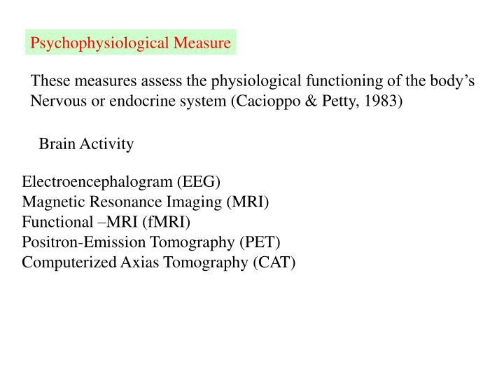 Psychophysiological Measure
