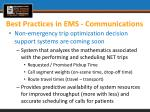 best practices in ems communications2