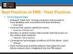 best practices in ems fleet practices1