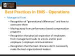 best practices in ems operations1