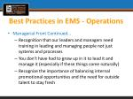 best practices in ems operations2