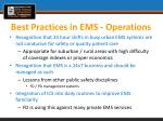 best practices in ems operations3