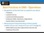 best practices in ems operations6