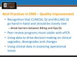 best practices in ems quality improvement1