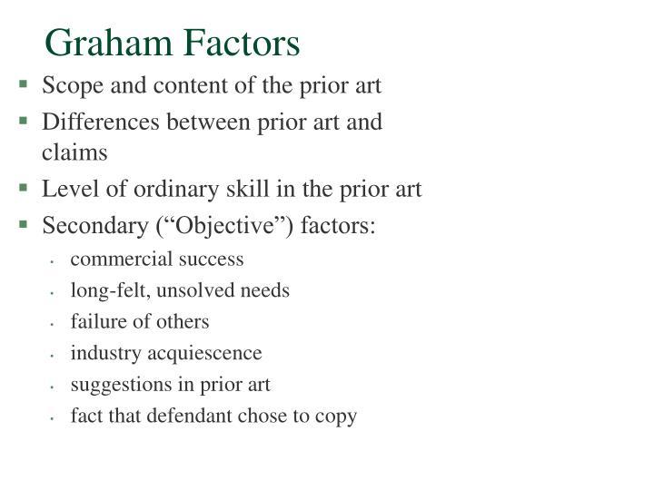 Graham Factors