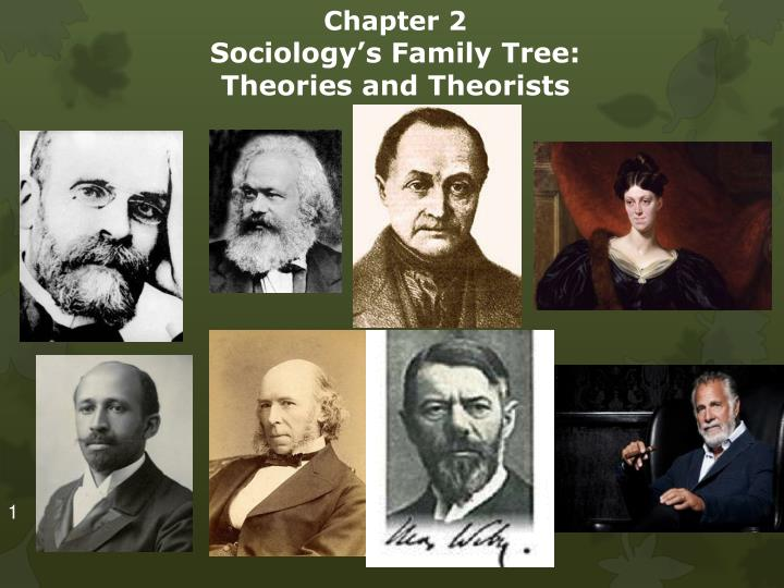 chapter 2 sociology s family tree theories and theorists n.