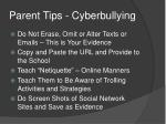parent tips cyberbullying2