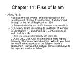 chapter 11 rise of islam5