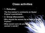 class activities1