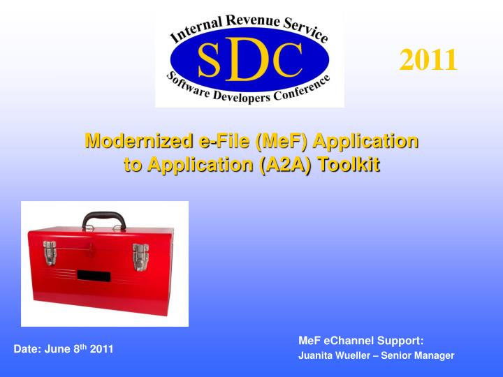 modernized e file mef application to application a2a toolkit n.