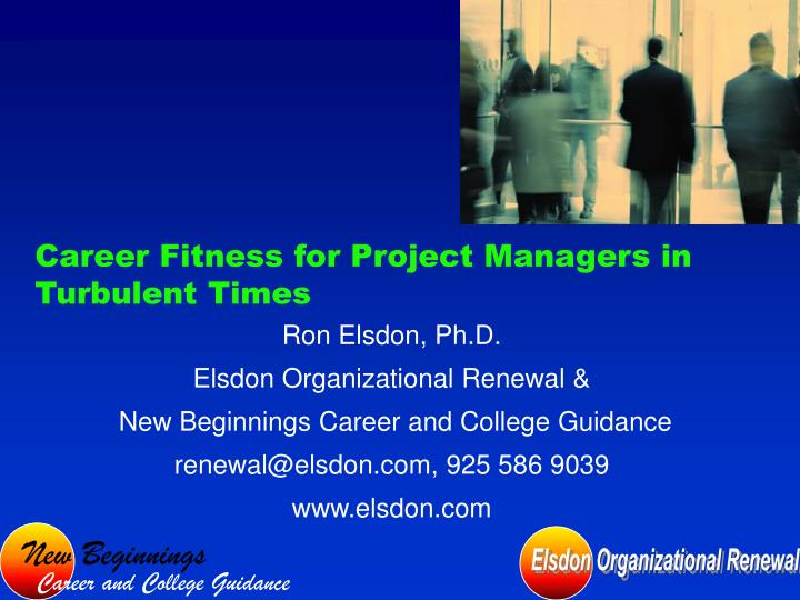 career fitness for project managers in turbulent times n.