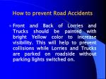 how to prevent road accidents40