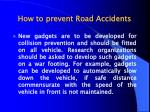 how to prevent road accidents9