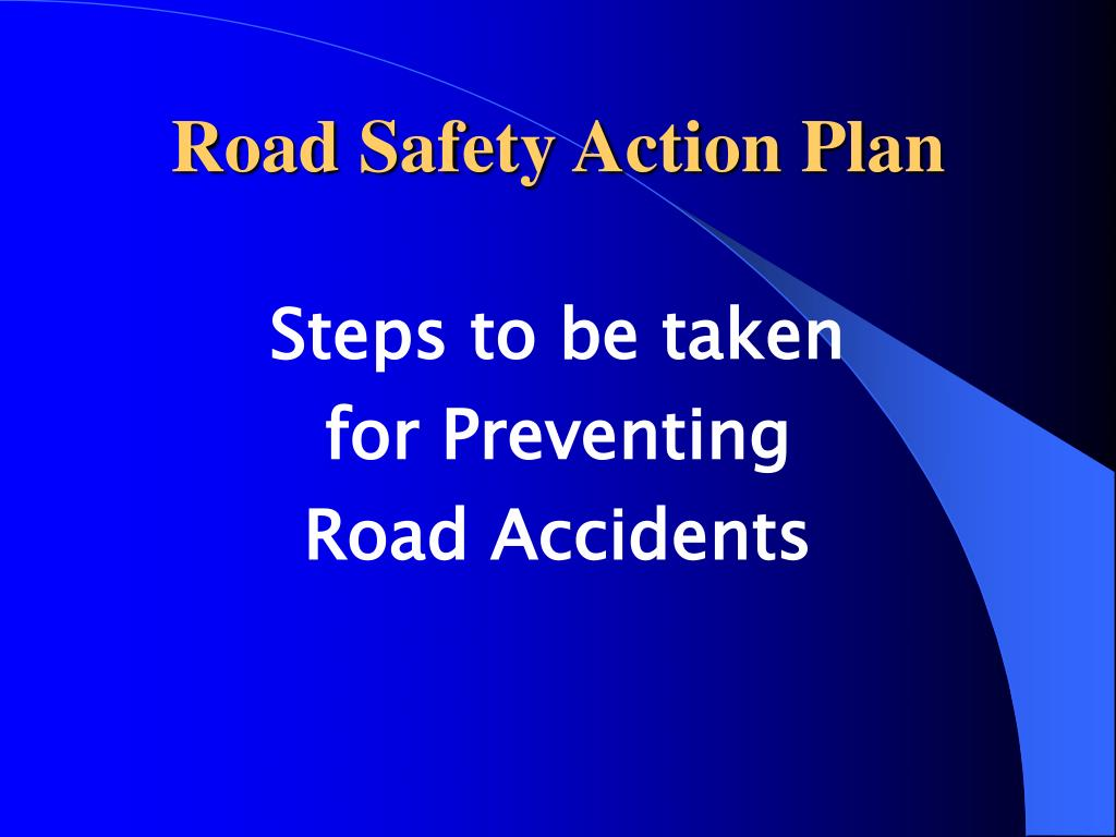 road safety action plan l.