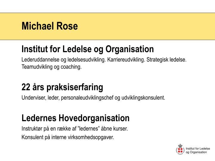 Institut for Ledelse og Organisation