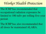 worker health protection