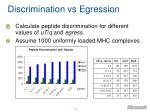 discrimination vs egression1
