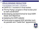 drug demand reduction lt col jett mayhew team leader lt col ned lee