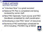 public affairs maj al pabon team leader