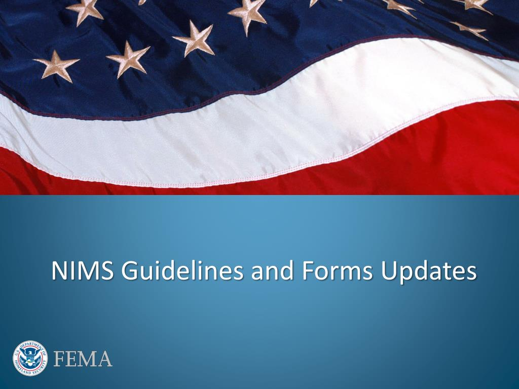 Ppt National Incident Management System Nims Update Powerpoint Presentation Id 1420051