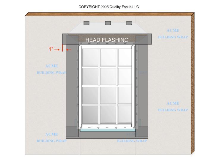 HEAD FLASHING