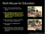 multi mouse for education