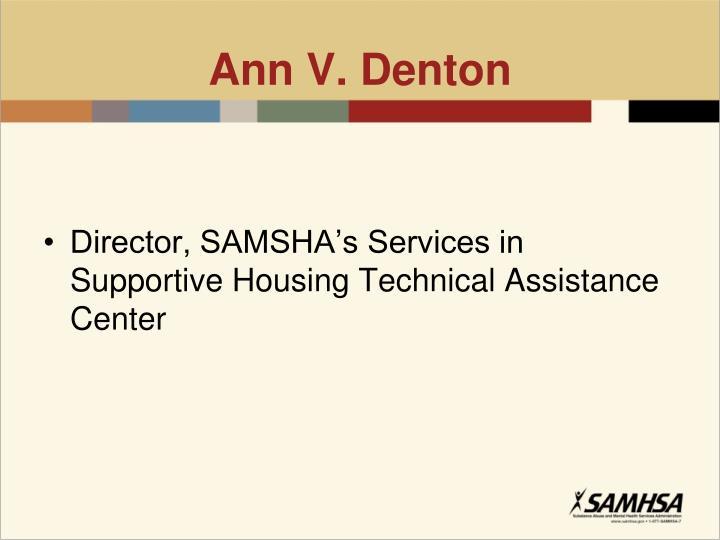 Ann V. Denton
