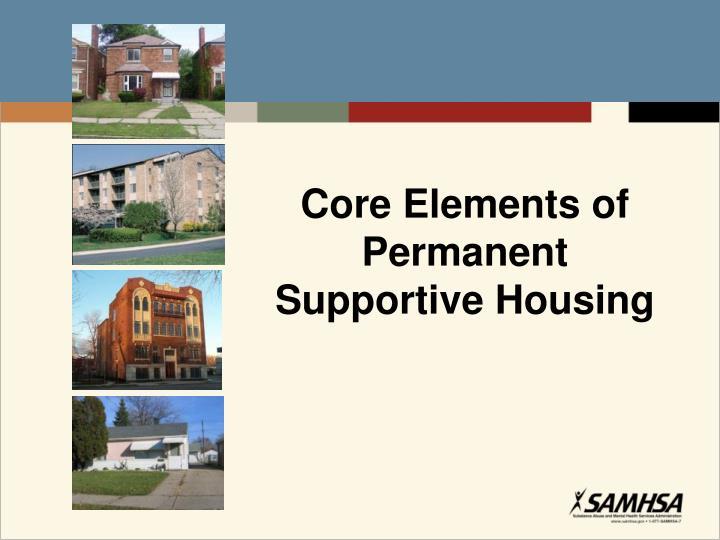 Core Elements of Permanent
