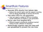 smartrule features