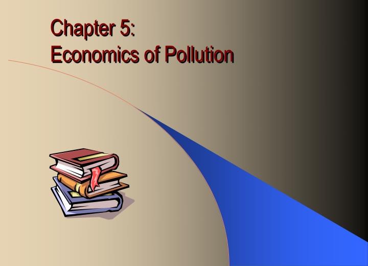 chapter 5 economics of pollution n.